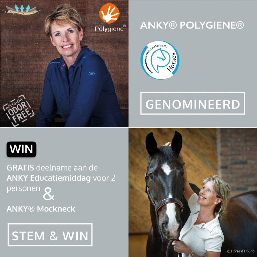 ANKY Polygiene nominated for Horses Product of the Year 2016 Election