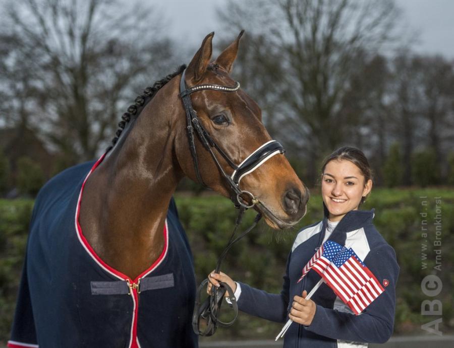 Lina Uzunhasan gaat uitkomen voor de Verenigde Staten