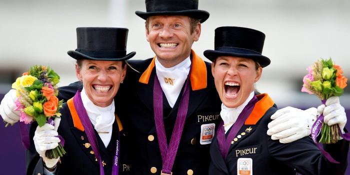 Bronzen teammedaille Olympische Spelen Londen